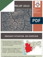 Maharashtra Drought Relief 2013 RSS Jankalyan samiti