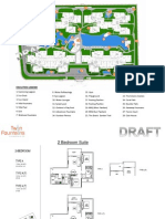 Twin Fountains Site & Floor Plan