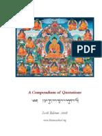 Compendium of Quotations