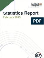 At Statistics Report February 2013