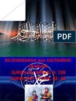 Powerpoint Agama Islam Ali Imran Dan Asy-syura