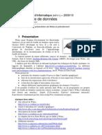INF511 - TP01 - Présentation de Weka