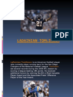 Ladainian Tomlinson-NFL Football San Diego Chargers