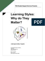 Learning Styles Workshop