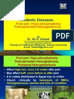 Post Parturient Hemoglobinuria