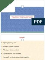 Module 5- Training the Salesforce
