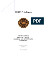 High Voltage PCDesign