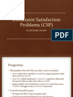PTI480.07 - Constraint Satisfaction Problem