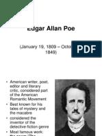 Edgar Allan Poe Presentation