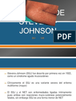 Sindrome de Stevens-johnson