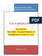 DGR REGULATION- Section 18- Dangerous Goods by Air -Edition 2.0