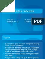 PTI444.01 - Pendahuluan SI