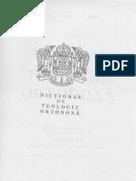 Dictionar de Teologie Ortodoxa - Ion Bria