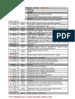Calendario Pos SIA 2012
