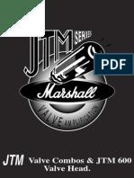 Marshall JTM 60 User's Manual