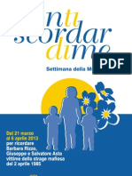 Non Ti Scordar - LOCANDINA 2013
