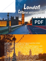 London Cultural Development