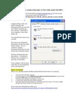InsInstalling Autodesk Student Softwaretalling Autodesk Student Software