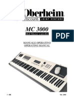 Midi Oberheim Mc3000 MC3000 Gb