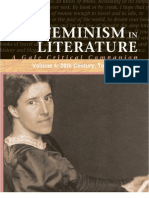 Feminism in Literature, Volume 4 - 20th Century, Topics
