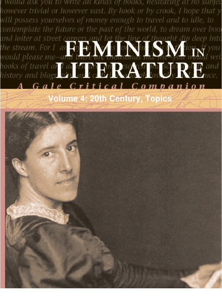 Feminism in literature volume 4 20th century topics writers feminism in literature volume 4 20th century topics writers a vindication of the rights of woman fandeluxe Gallery