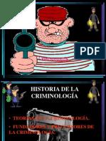Criminologia Histioria de La Crimi