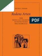 Zimmer, Dieter E. - Redens Arten