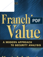 Franchise Value - A Modern Approach to Security Analysis.[2004.ISBN0471647888]