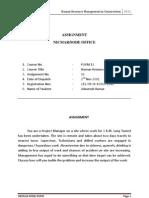 Assisgnment No. 2 Human Resourse Management