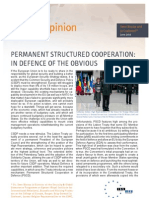 Permanent Structured Cooperation