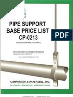 Carpenter & Paterson Hardware Price Book CP-0213
