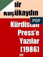 Kürdistan Press'e Yazılar