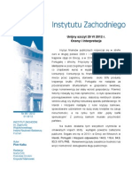 Piotr Kalka - Unijny szczyt 29 VI 2012 r. - oceny i interpretacje