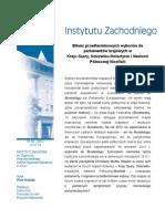 Piotr Kubiak - Bilans przedterminowych wyborów do parlamentów krajowych w Kraju Saary, Szlezwiku-Holsztynie i Nadrenii Północnej-Westfalii
