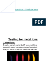 Testing for Metal Ions