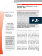 Management of Fractures of the Proximal Ulna