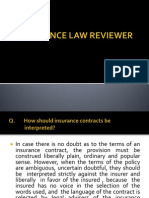 Revised Insurance Law Reviewer