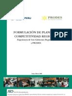 Formulacion Planes Competitividad Regional Infor Asist Tecnica