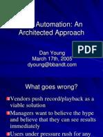 TestAutomation_AnArchitectedApproach