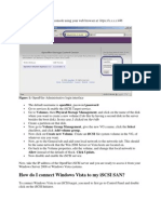 Openfiler Client Access