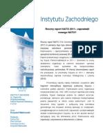 Krzysztof Malinowski - Roczny raport NATO 2011 - zapowiedź nowego NATO?