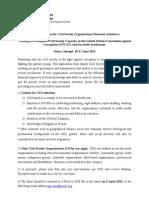 Application Form for Dakar Training June 2013