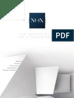 Plaquette institutionnelle Groupe Nox