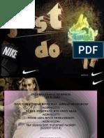 NIKE Presentation Slide Edit