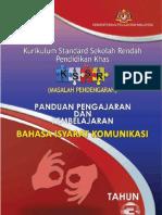 Panduan P&P Bahasa Isyarat Komunikasi Thn. 3