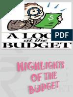 The Grand Presentation on BUDGET