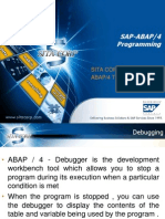 ABAP Debugging Day-5