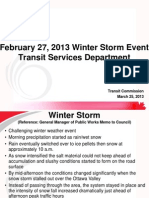 Feb. 27, 2013 OC Transpo Winter Storm Update