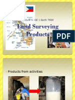 Lecture 5 Products of Land Surveying