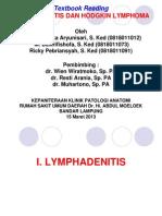 Limfadenitis Limfoma Hodgkins